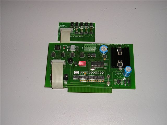 Besturingsprint voor AMF 82-70 5-Board Chassis